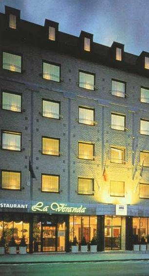 Гостиница в Брюсселе.