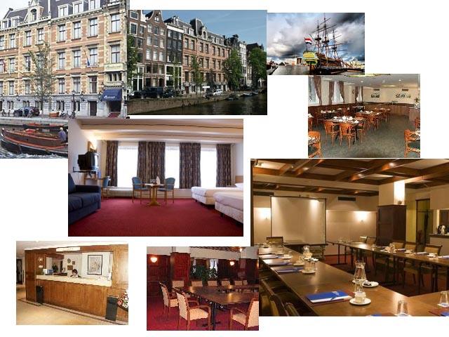 Гостиница 3 звезды в историческом центре Амстердама.