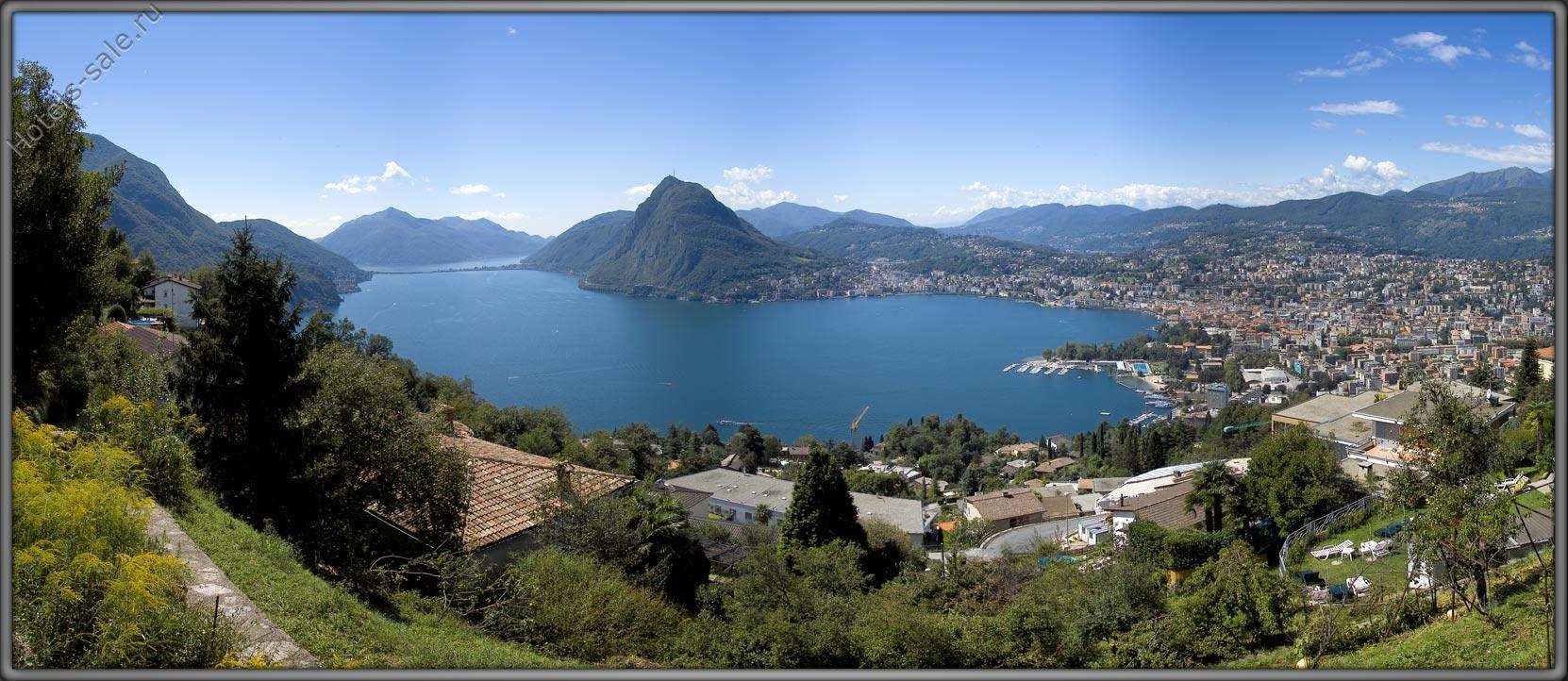 5 звездочная гостиница в Лугано, Швейцария