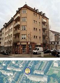 Ухоженный дом состоящий из жилых и коммерческих помещений в Дюссельдорфе (район Oberbilk)