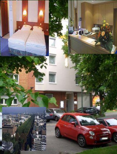 Гостиница в Дюссельдорфе, Германия