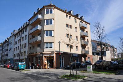Доходный дом в центральной части Дюссельдорфа.