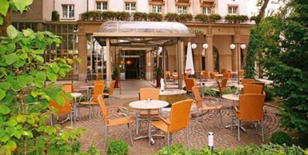 Гостиница в центре Карлсруэ, рядом с вокзалом, Германия.