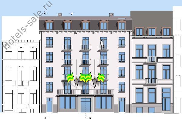 Проект строительства гостиницы в Бельгии