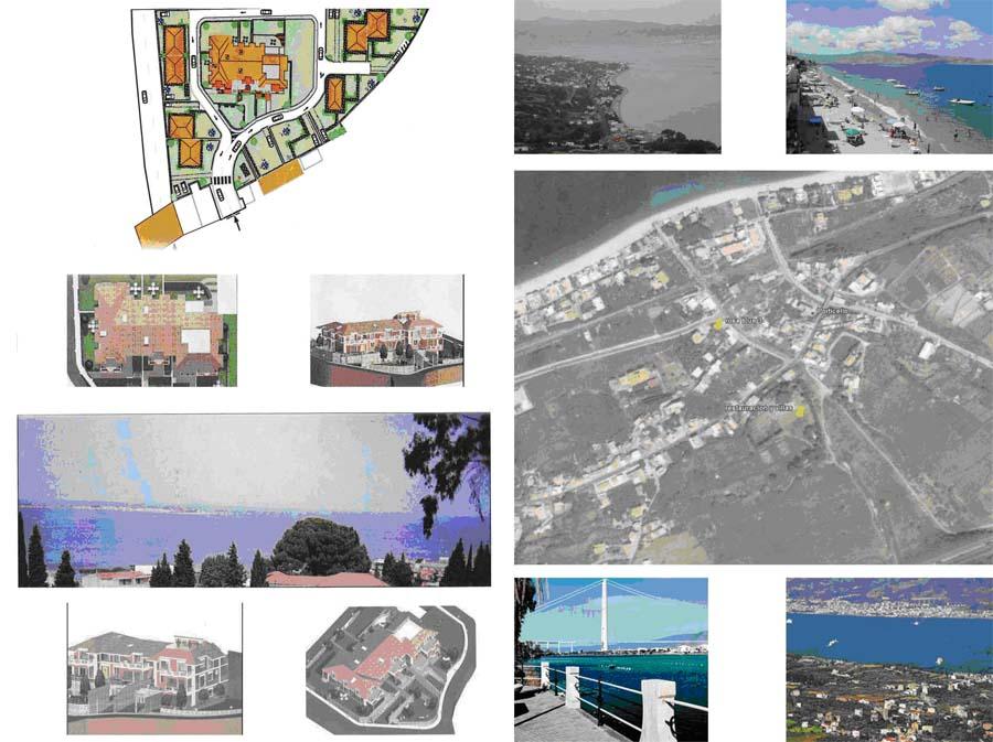 Проект на юге Италии в Канитэлло области Реджо Калабрии Зона Коста Виола