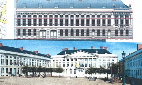 Гостиница в центре Брюсселя, рядом с фламандским парламентом