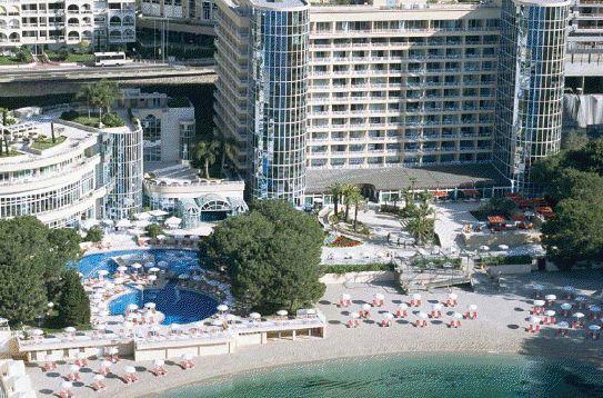 Монако, единственная гостиница с частным пляжем, абсолютный люкс.