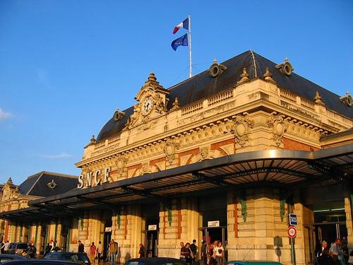 Гостиница в Ницце, в центральной части.