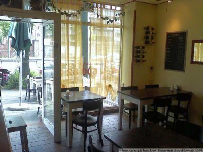 Пиццерия/кафе в Дюссельдорфе – Германии, столице земли Северная Вестфалия.