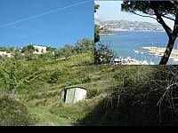 Участок земли под строительство виллы в 25 мин. от Монако, в Италии, Лигурийское побережье, 9 км от моря.