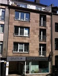 Абсолютный раритет в центре Дюссельдорфа – многоквартирный дом с коммерческой площадью.