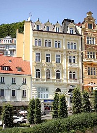 Гостиница 4 звезды в самом сердце спа-центра в Карловых Варах.