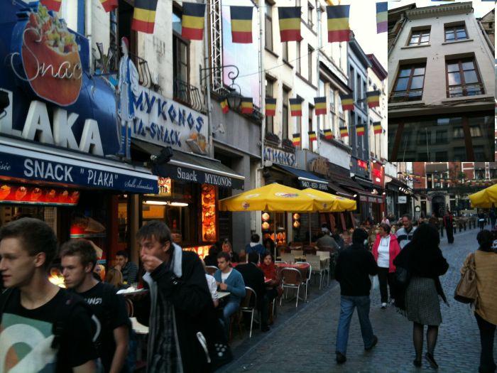 Коммерческий дом в самом центре Брюсселя – в 60 м от Гран Пласа.