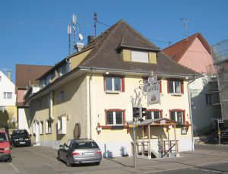 Гостиница с рестораном в Хагнау, Германия, возле Боденского озера – на границе с Швейцарией.