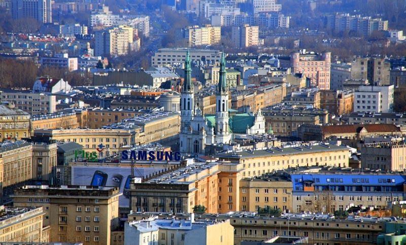 Первый в центре Варшавы комплексный центр – культуры, отдыха, ресторана, дискотеки, телевизионных мероприятий.