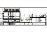 Проект строительства 22 квартир в Брюсселе.
