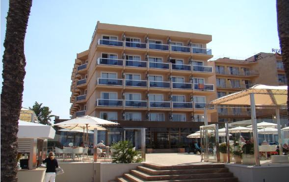 Отель 3*** , Пальма де Майорка на первой линии моря