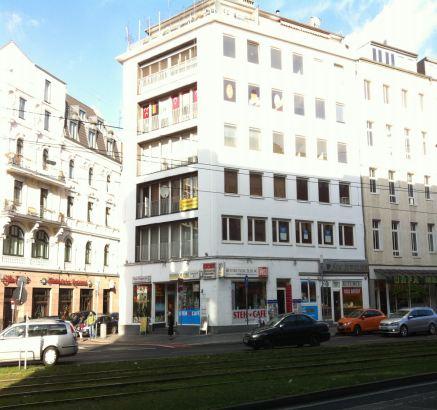 Доходный дом в центре Дюссельдорфа , находящийся в непосредственной близости к Кенигсаллее и центральному вокзалу