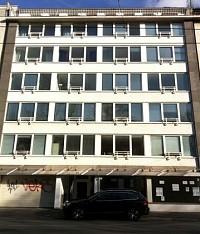 Доходный дом, находящийся в центре Дюссельдорфа, в районе Пампельфорт