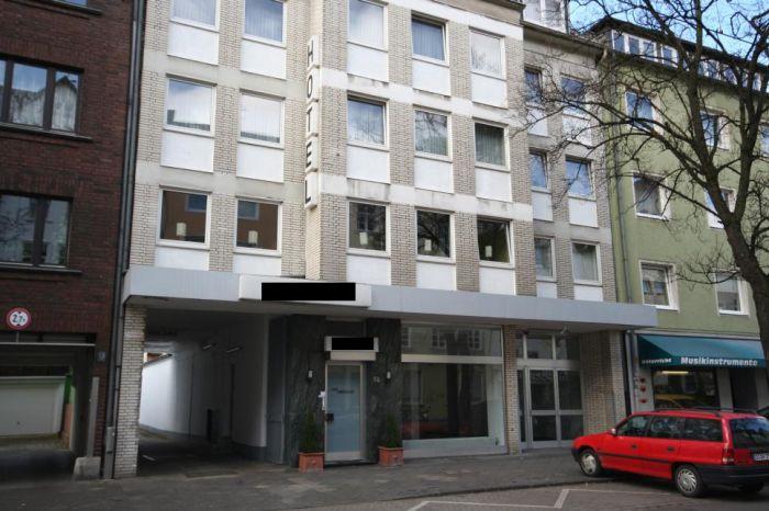 Гостиница в Дюссельдорфе - столице Северной Вестфалии Германии.