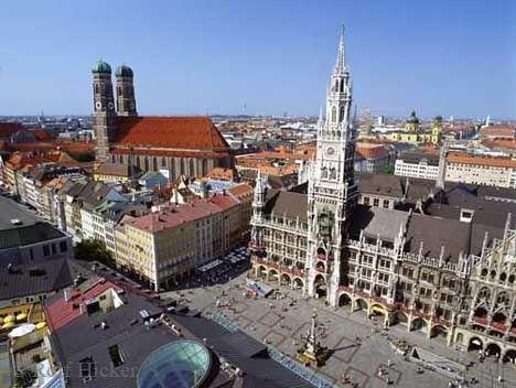Гостиница в Мюнхене.