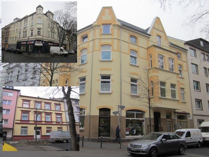 Три доходных дома как один пакет в Дюссельдорфе – выгодные инвестиции.