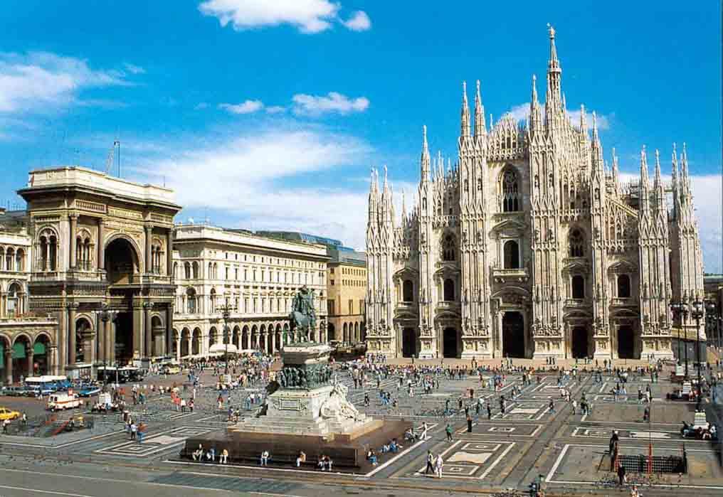 Гостиница в Милане, Италия.