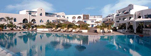 Продажа 2-х гостиниц на о. Санторини в Греции.