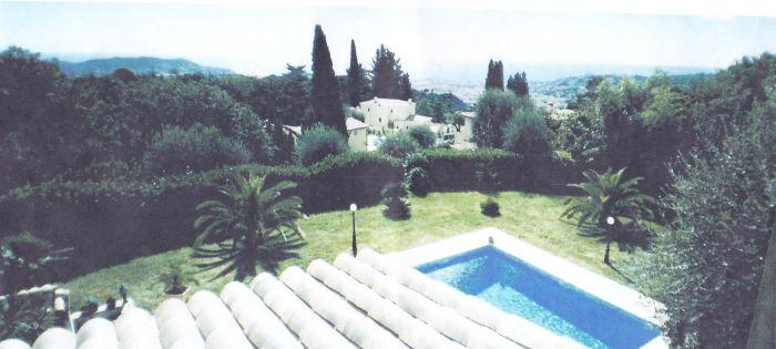 Вилла в Ницце в престижном месте Геро, на Лазурном берегу Франции