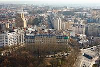 В Брюсселе, Бельгия, в центральной части доходный дом.
