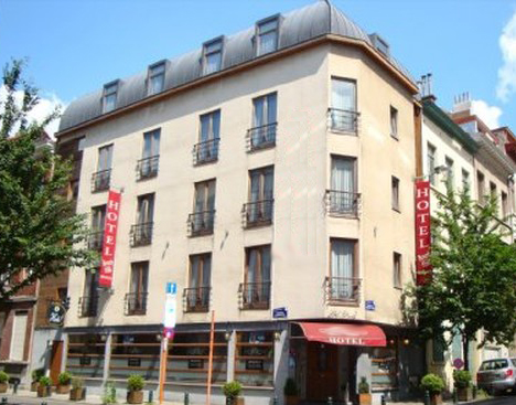 Отель в  центре Брюсселя.