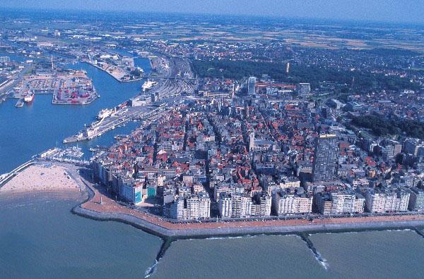 Гостиница в  Остенде, популярном бельгийском побережье.