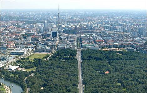 Отель в центральной части Берлина.