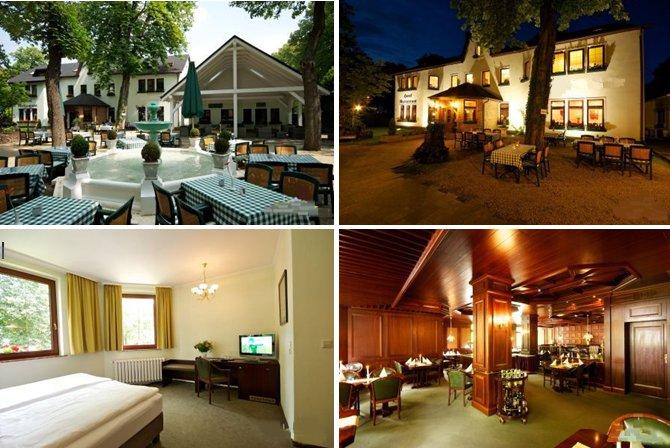 Замечательная гостиница с потенциалом для 42 посетителей и так же ресторан в Берлине (район Хермсдорф), 20 км от центра Берлина.