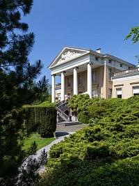 Замок XIX века в Бельгии, недалеко от Гента
