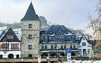 Гостиница-замок на Рейне рядом с Рюдесхаймом, Германия