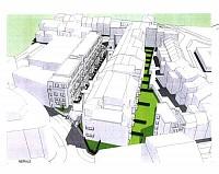 Проект по строительству многоквартирного дома на 24 квартиры в Брюсселе, в районе Лакен.