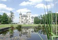 Красивый замок 19 века, возле Брюсселя.