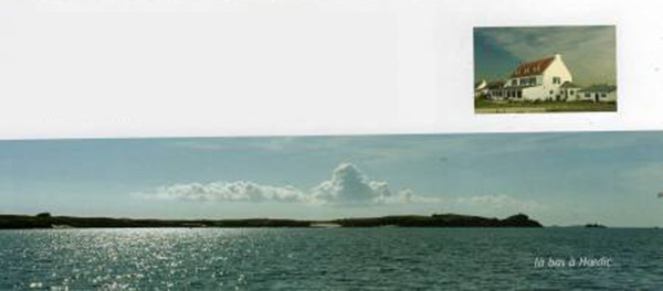 У побережья французской Бретани, гостиница с рестораном, c видом на море