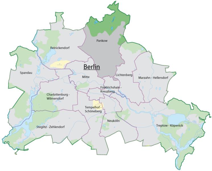 3х звездочная гостиница в столице Германии (район Панков)