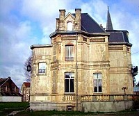 Особняк XIX века во Франции, на границе с Бельгией.