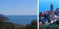 Участок под строительство виллы в Лигурии, Италия, в 50 км от Монако.