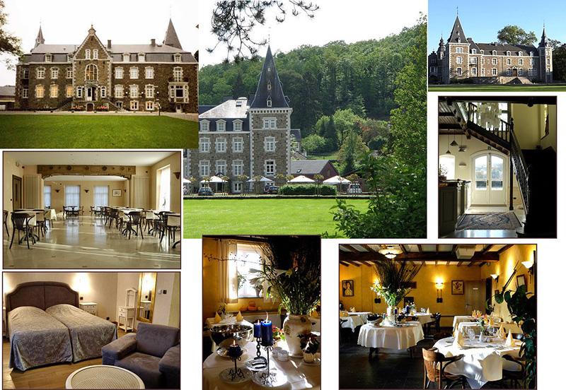 Прекрасный старинный замок-отель в бельгийских Арденнах.