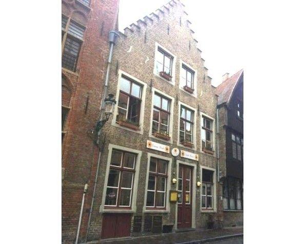 В бельгийском городе сказке Брюгге дом – ресторан