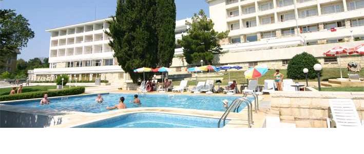 Гостинечный комплекс на  черноморском побережье Болгарии