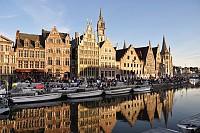 Гостиница в центре Гента, Бельгия.