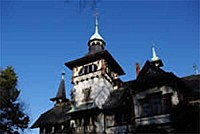 Замок-охотника в Захсен-Анхальте, Германия