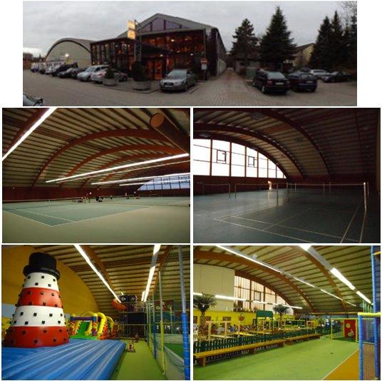 Двухэтажный центр спорта и фитнеса рядом с Дюссельдорфом, Германия