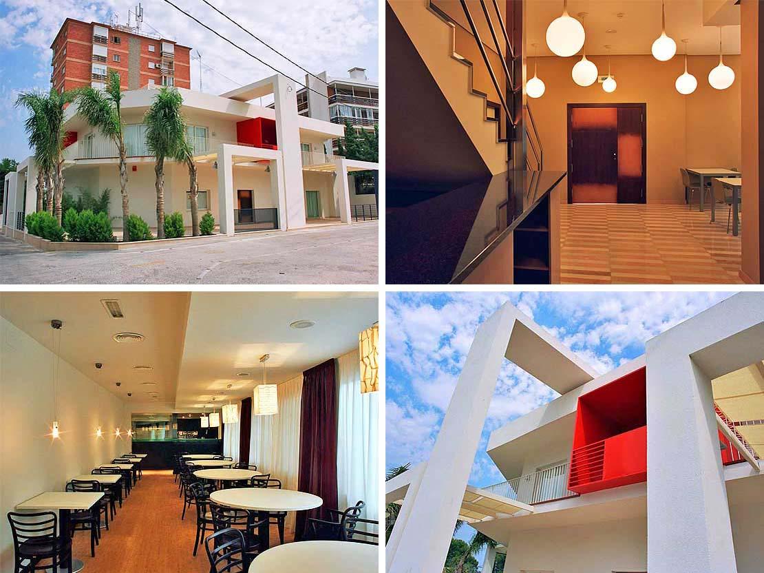 Красивая гостиница с рестораном, на Коста Бланка, Испания