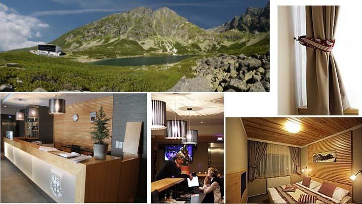 4* отель в Татрах, горах Словакии.
